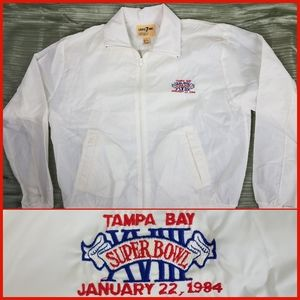 Vintage 1984 NFL Super Bowl XVIII Windbreaker